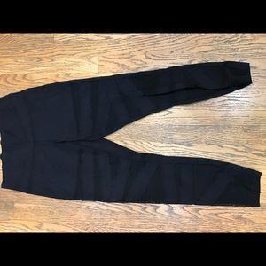 lululemon athletica Pants - Lululemon mesh striped pants